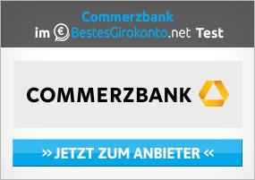 Guthabenkonto eröffnen bei der Commerzbank