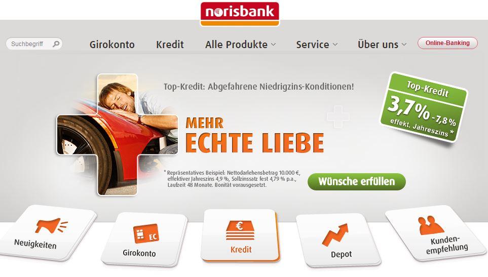 Die Produktpalette der norisbank
