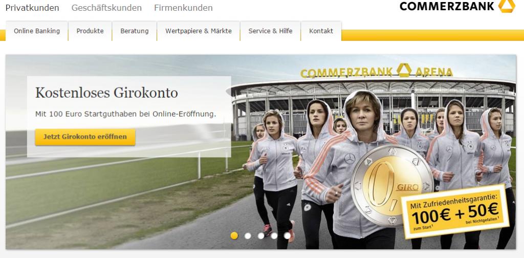 Commerzbank girokonto prämie