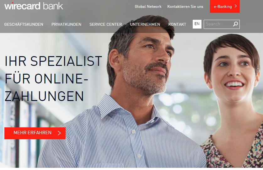 Wirecard Bank ist der Anbieter für schufafreie Girokonten