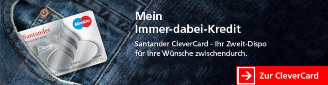 Santander Clever Card