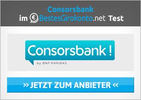 Consorsbank girokonto eröffnung Test