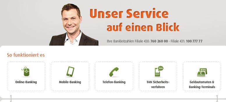 24 Stunden Kundenservice bei der norisbank!