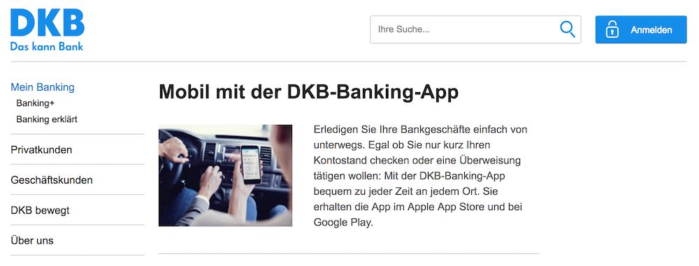 DKB-Banking-App