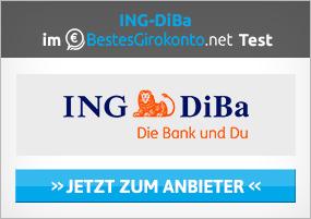ING-DiBa als Direktbank in Deutschland