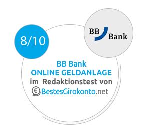 BBBank Testergebnis