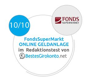 FondsSuperMarkt Testergebnis