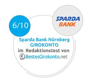 Sparda-Bank Nürnberg Testergebnis