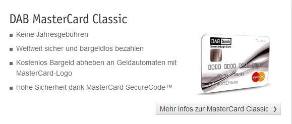 dab bank kreditkarte