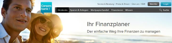 consorsbank finanzplaner
