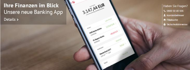 hypovereinsbank banking app