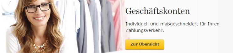Commerzbank Geschäftskonto alternative