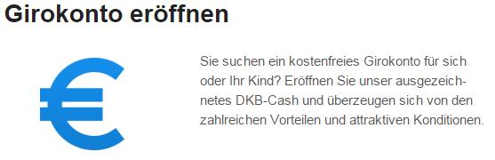 Ein Girokonto bei der DKB ist schnell und einfach eröffnet