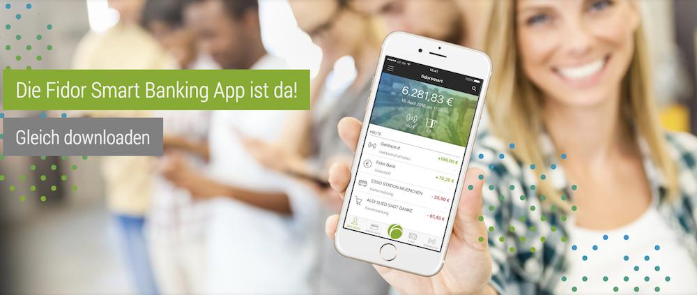 Fidor Bank Banking App