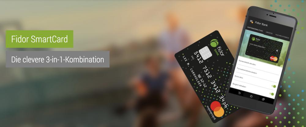 Fidor Bank SmartCard
