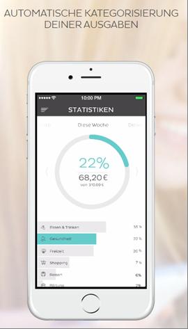 Die Smartphone App von N26