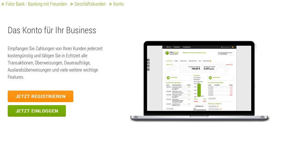 Fidor Smart Business