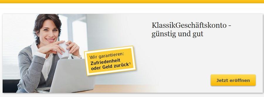 Günstiges Firmenkonto bei der Commerzbank eröffnen