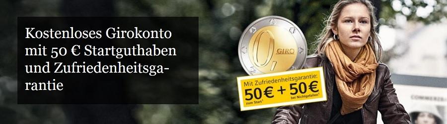 Auch Commerzbank ermöglicht Führung eines Guthabenkontos
