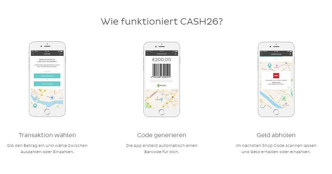 Cash26 Erfahrungen Barcode