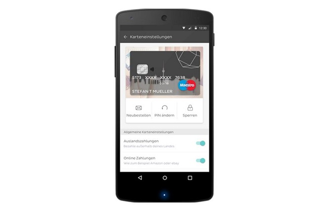 N26 Karte beantragen über die App