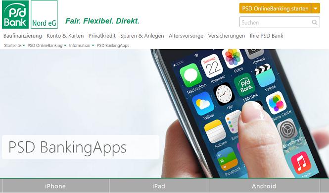 PSD Bank Banking-App