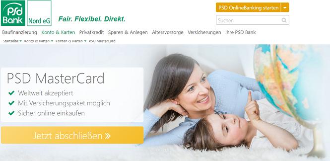 PSD MasterCard