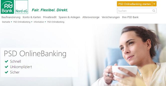 PSD Online-Banking Vorteile
