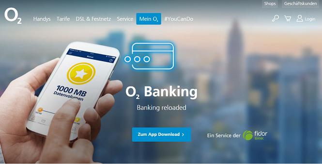 o2 Banking Erfahrungen o2 banking app