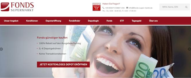 FondsSuperMarkt Erfahrungen von BestesGirokonto.net