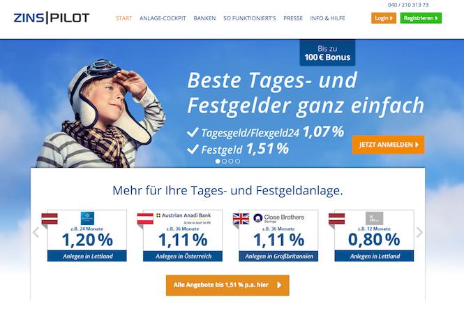 ZINSPILOT Erfahrungen von BestesGirokonto.net