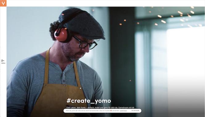 yomo Webseite