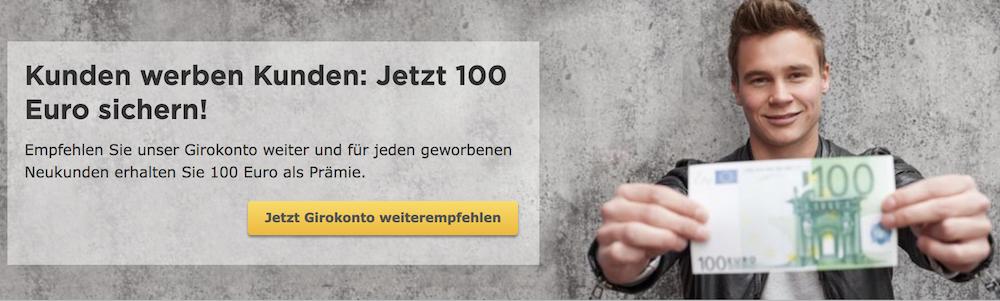 Commerzbank Kundenwerbung