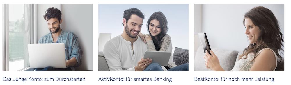 Deutschen Bank Konten