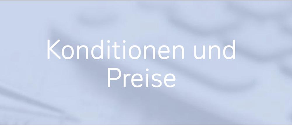 Deutschen Bank Preise und Konditionen