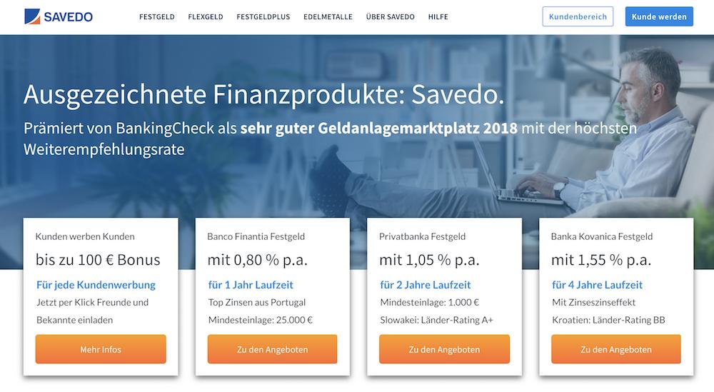 savedo Homepage