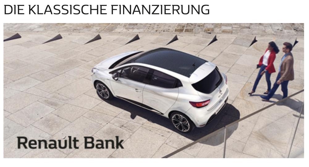 Renault Bank Direkt Finanzierung