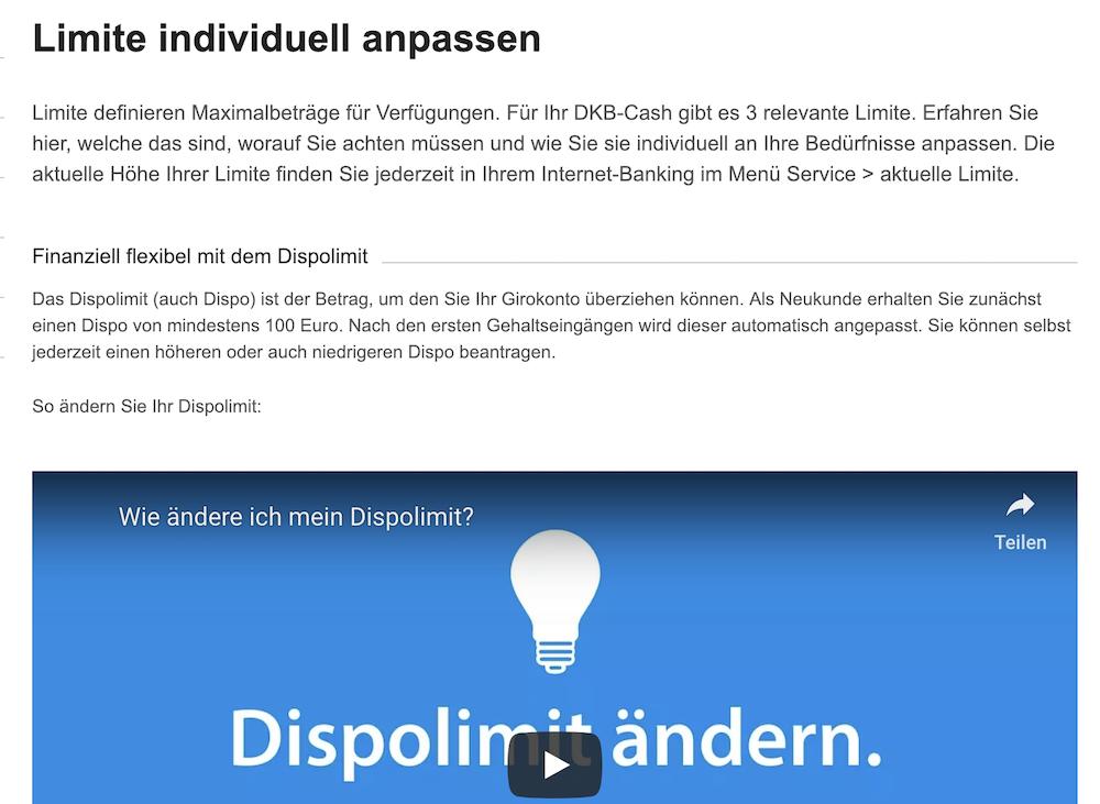 DKB Dispolimit